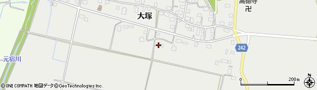 山形県東置賜郡川西町大塚2281周辺の地図