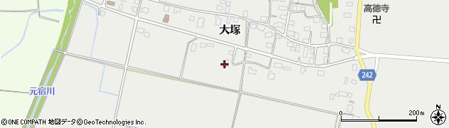 山形県東置賜郡川西町大塚2285周辺の地図