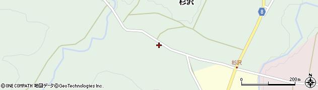 山形県西置賜郡小国町杉沢172周辺の地図