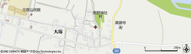 山形県東置賜郡川西町大塚2209周辺の地図