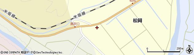 山形県西置賜郡小国町松岡58周辺の地図