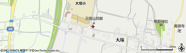 山形県東置賜郡川西町大塚3029周辺の地図