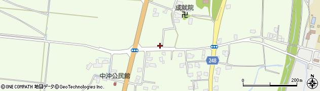 山形県東置賜郡川西町西大塚555周辺の地図