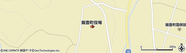 山形県西置賜郡飯豊町周辺の地図