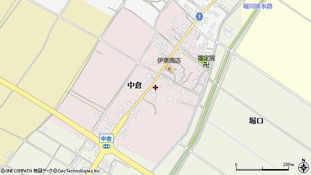 〒959-2716 新潟県胎内市中倉の地図