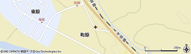 山形県西置賜郡小国町町原255周辺の地図