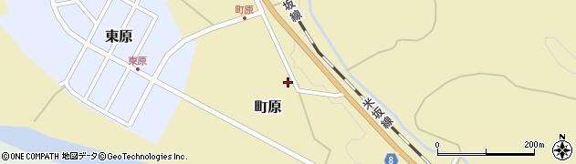 山形県西置賜郡小国町町原282周辺の地図