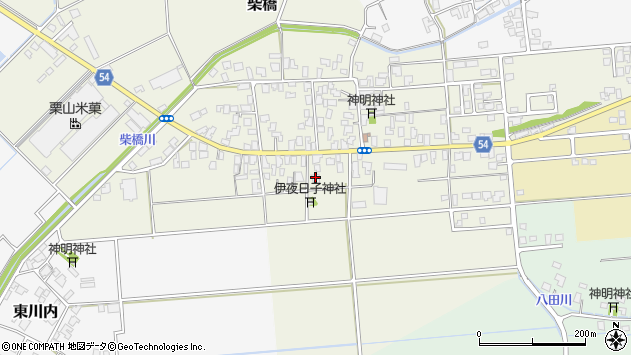 〒959-2665 新潟県胎内市大塚の地図