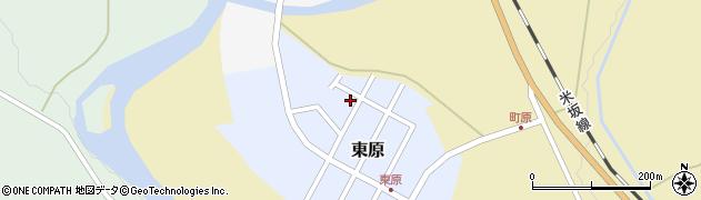 山形県西置賜郡小国町東原4周辺の地図