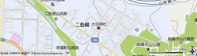 大日神社周辺の地図