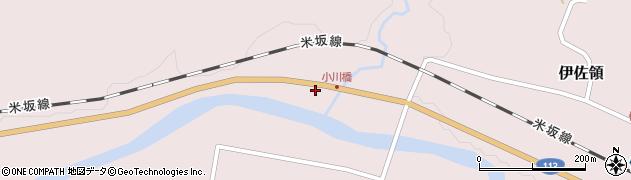 山形県西置賜郡小国町伊佐領402周辺の地図