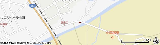 山形県西置賜郡小国町岩井沢347周辺の地図