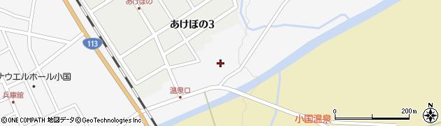 山形県西置賜郡小国町岩井沢142周辺の地図