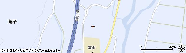 宮城県蔵王町(刈田郡)宮(馬飼)周辺の地図