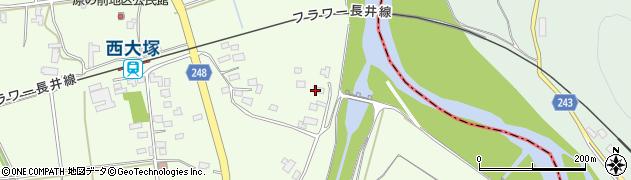 山形県東置賜郡川西町西大塚2899周辺の地図