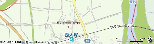 山形県東置賜郡川西町西大塚3118周辺の地図