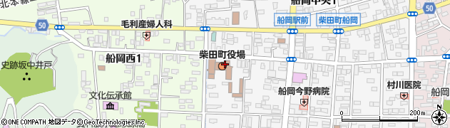 宮城県柴田郡柴田町周辺の地図