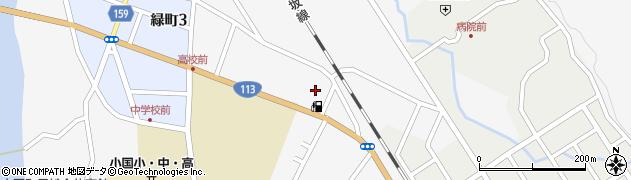 山形県西置賜郡小国町岩井沢538周辺の地図