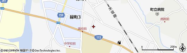 山形県西置賜郡小国町岩井沢612周辺の地図