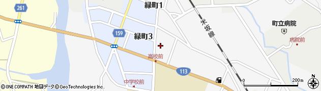 山形県西置賜郡小国町岩井沢617周辺の地図