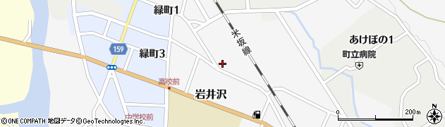 山形県西置賜郡小国町岩井沢580周辺の地図