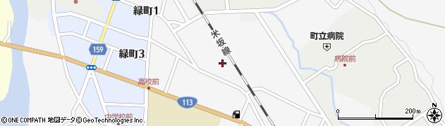 山形県西置賜郡小国町岩井沢586周辺の地図