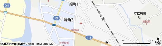 山形県西置賜郡小国町岩井沢613周辺の地図