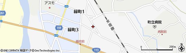山形県西置賜郡小国町岩井沢588周辺の地図