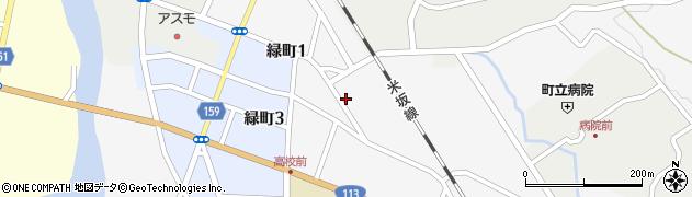 山形県西置賜郡小国町岩井沢587周辺の地図