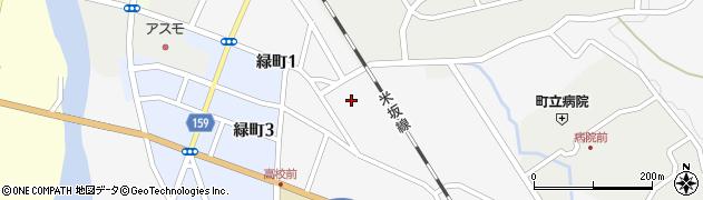 山形県西置賜郡小国町岩井沢581周辺の地図
