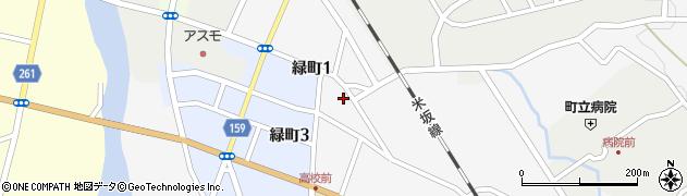 山形県西置賜郡小国町岩井沢592周辺の地図