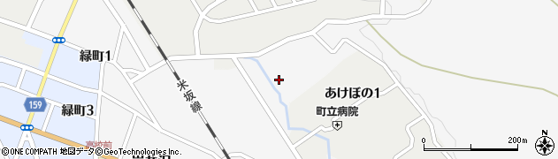 山形県西置賜郡小国町岩井沢422周辺の地図
