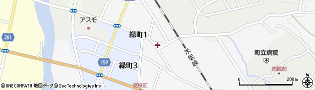 山形県西置賜郡小国町岩井沢595周辺の地図