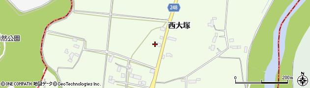 山形県東置賜郡川西町西大塚3810周辺の地図