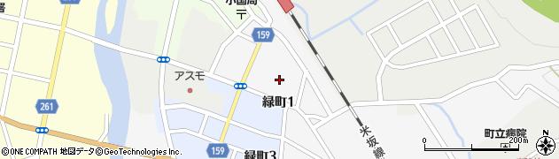 山形県西置賜郡小国町岩井沢832周辺の地図