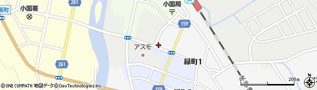 山形県西置賜郡小国町岩井沢843-4周辺の地図