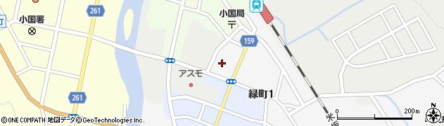 山形県西置賜郡小国町岩井沢841周辺の地図