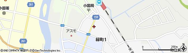 山形県西置賜郡小国町岩井沢836周辺の地図