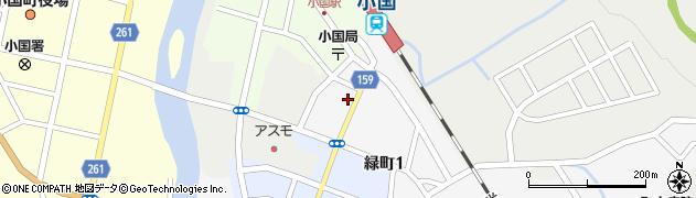 山形県西置賜郡小国町岩井沢838周辺の地図