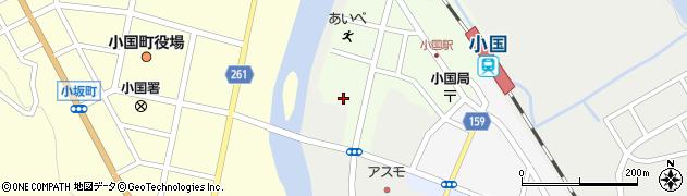 山形県西置賜郡小国町栄町118周辺の地図