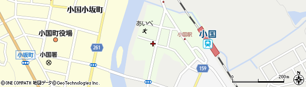 山形県西置賜郡小国町栄町108周辺の地図