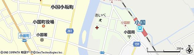 山形県西置賜郡小国町栄町112周辺の地図