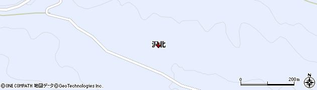 宮城県蔵王町(刈田郡)宮(沢北)周辺の地図