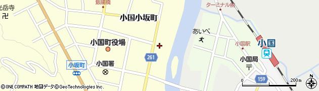 山形県西置賜郡小国町小国小坂町297周辺の地図