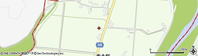 山形県東置賜郡川西町西大塚3771周辺の地図