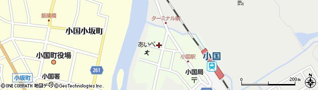 山形県西置賜郡小国町栄町89周辺の地図