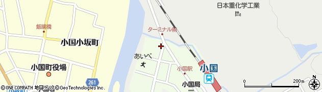 山形県西置賜郡小国町栄町86周辺の地図