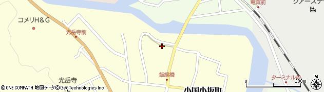山形県西置賜郡小国町小国小坂町417周辺の地図