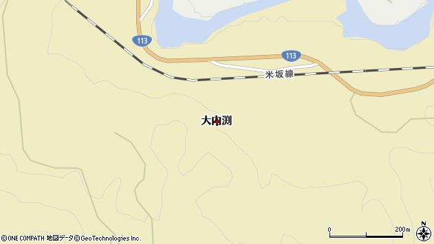 〒959-3223 新潟県岩船郡関川村大内淵の地図