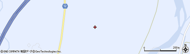 宮城県蔵王町(刈田郡)宮(坂山)周辺の地図